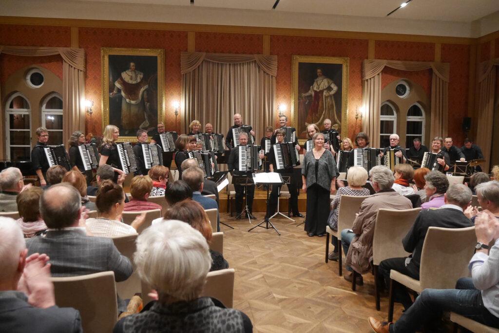 Nächstes Konzert des Akkordeonorchesters Neuabing-Pasing